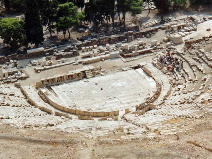 Teatro de Dioniso, El mayor teatro de la antigua Grecia