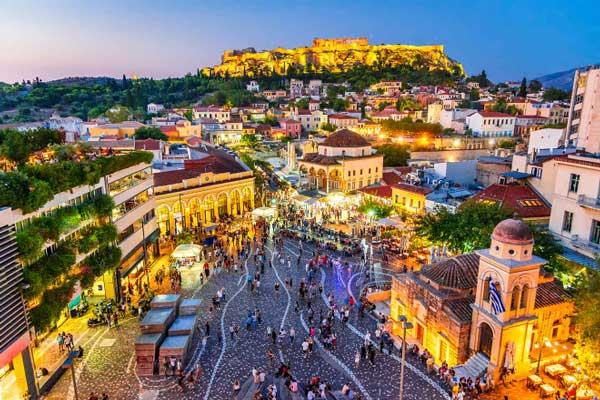 Donde alojarse y dormir en Atenas