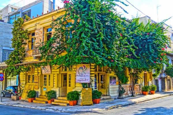 Atenas donde alojarse en la zona Metaxourgeio