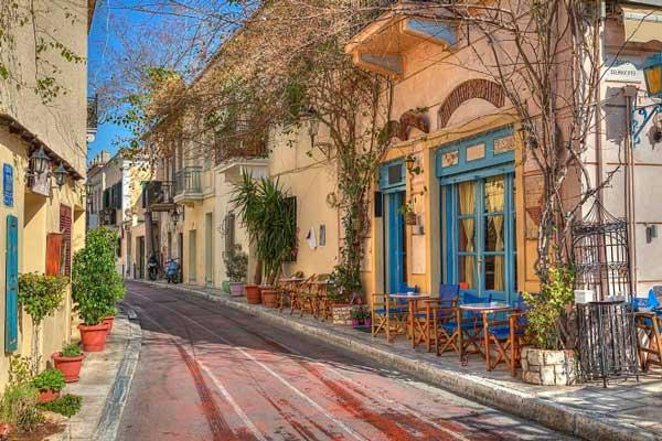 Dónde hospedarse en Atenas para un ambiente tradicional