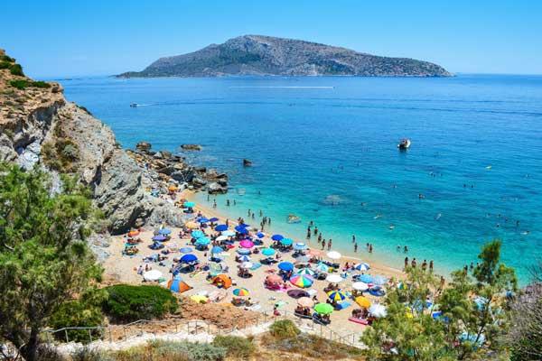 Alojarse en la zona sur de Atenas cerca de la playa