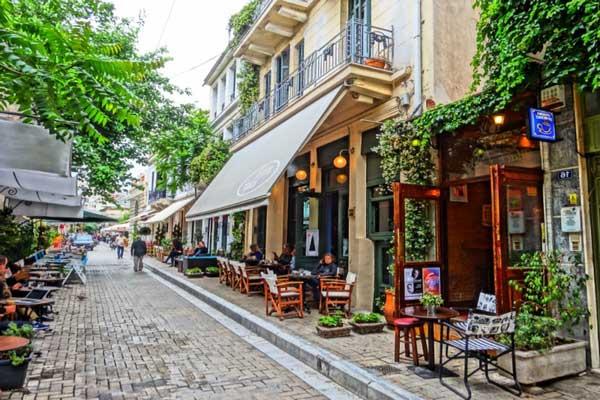 Donde dormir en Atenas en la zona de Psiri