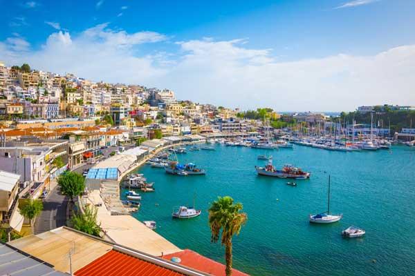Dormir Atenas en El puerto del Pireo