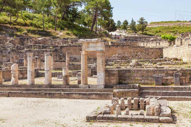 La antigua ciudad de Rodas