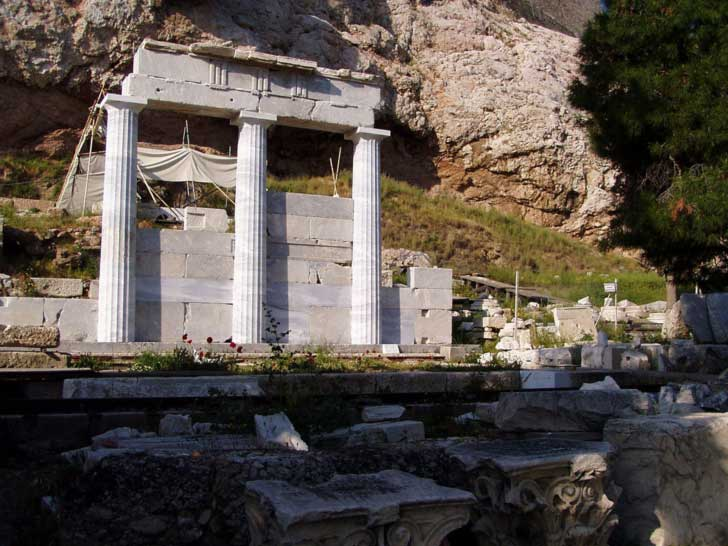 Asclepeion de Epidauro - santuario dedicado a Asclepio