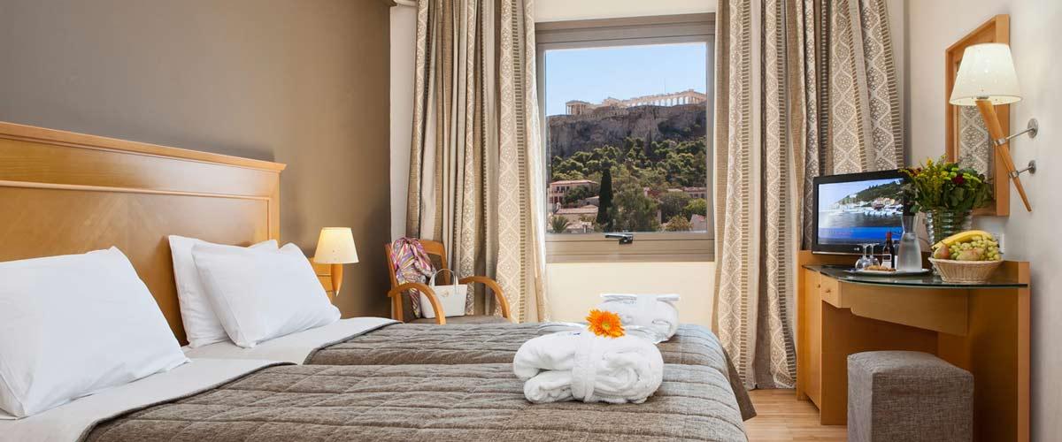 Donde dormir en Atenas