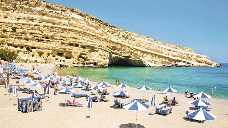 Playa Matala