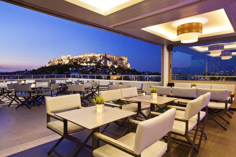 Hotel con vista a la Acrópolis