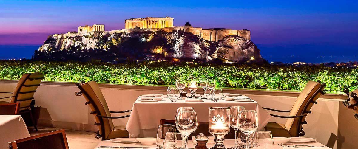 Hoteles con vistas en Atenas