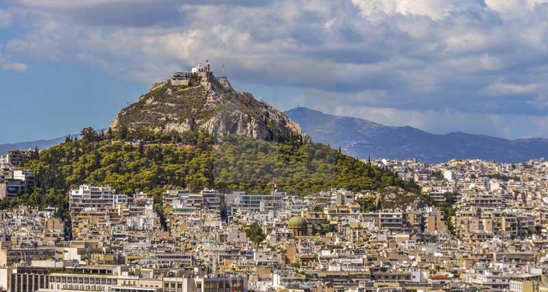 Monte Licabeto el mejor mirador de Atenas