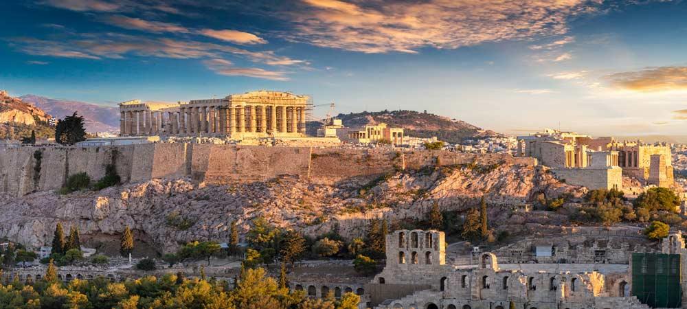 Atracciones turísticas y Monumentos de Atenas