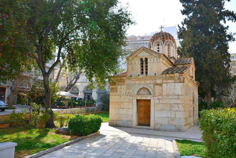 Iglesia de Agios Eleftherios de Atenas