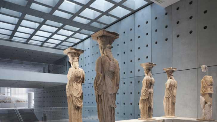 Museo de la Acrópolis un museo arqueológico griego