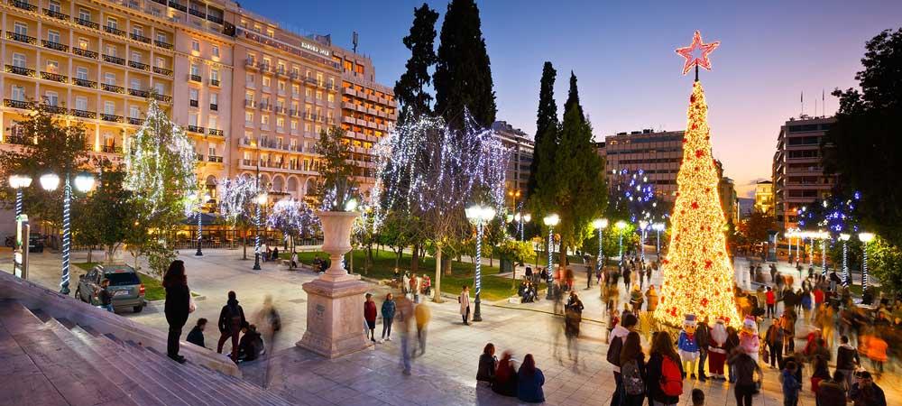 Navidad y Fin de año en Atenas