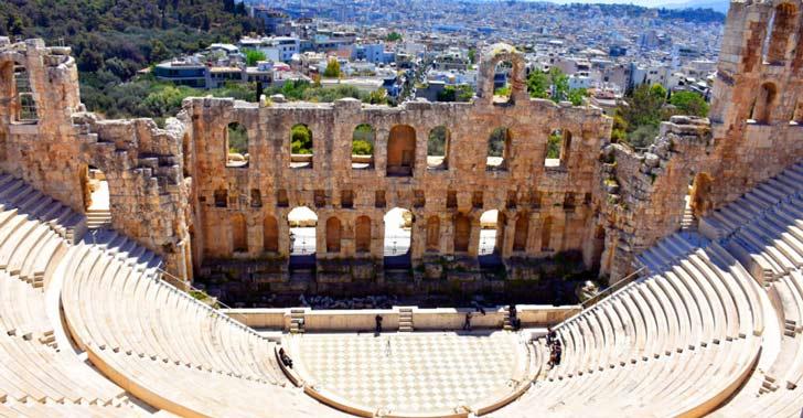 El Odeón de Herodes Ático