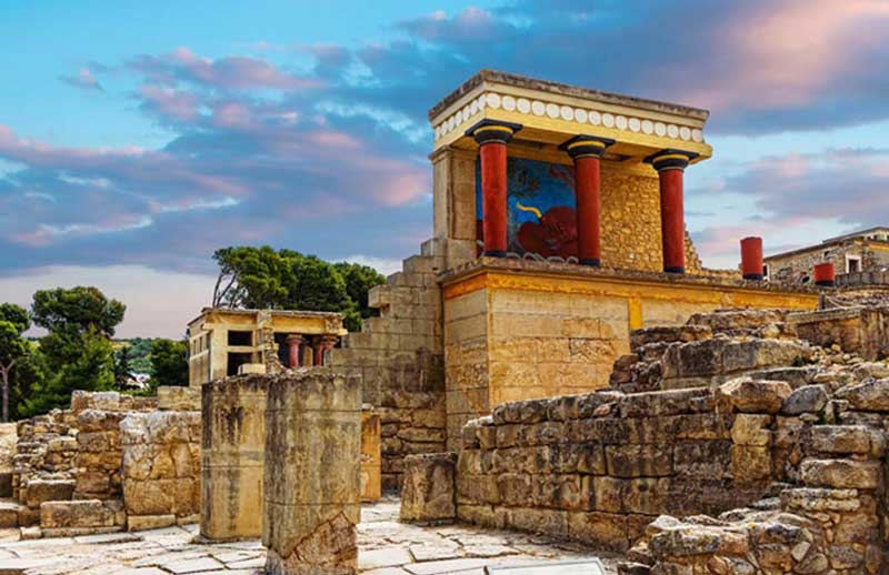Palacio Minoico de Knossos