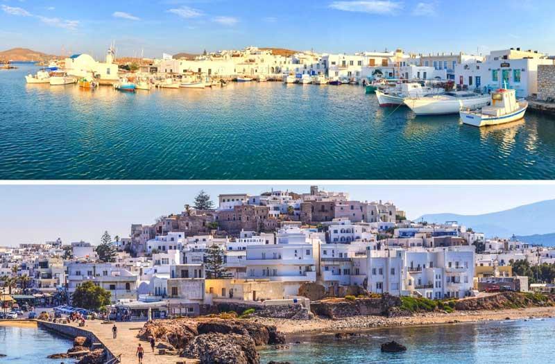 Paros o Naxos