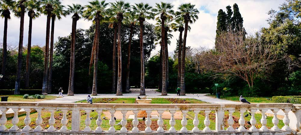 Parques y Jardines de Atenas