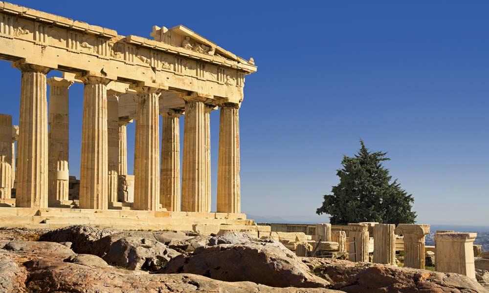 Partenón el simbolo de Atenas, Grecia