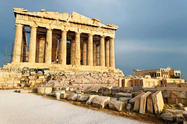 El Partenón es el edificio más importante y conocido de la ciudad y de toda Grecia