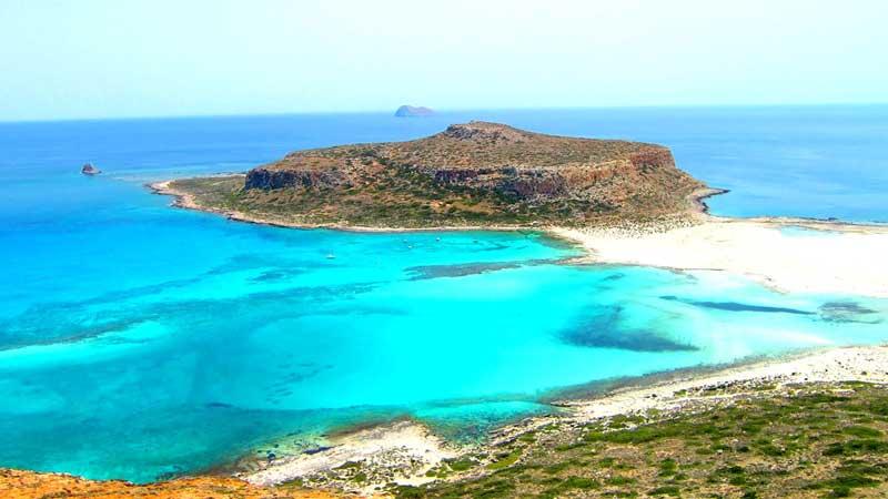 Laguna de Balos y la Isla de Granvousa