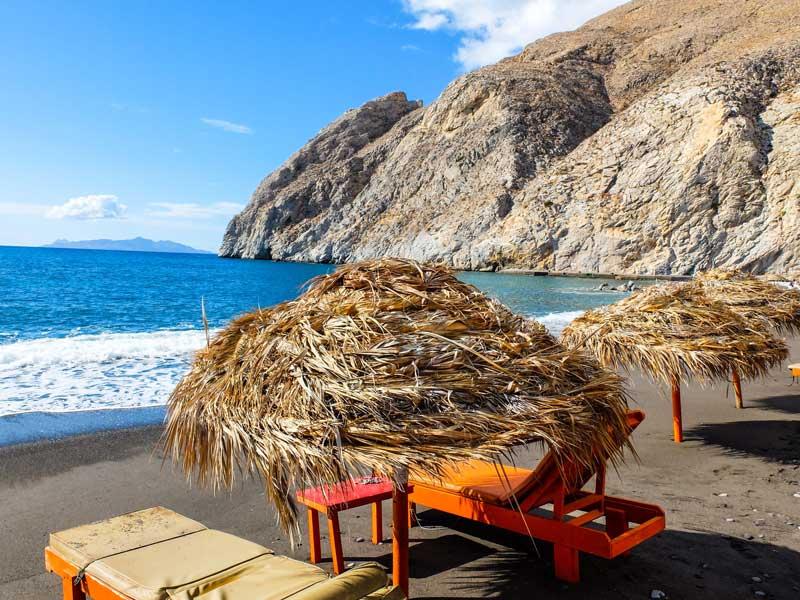 Playas con encanto en Santorini