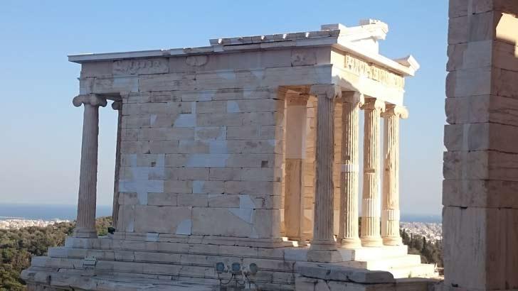 El templo de Atenea Niké
