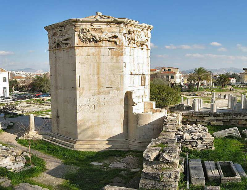 Torre Ágora Romana