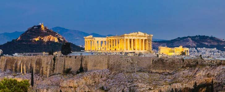 Acrópolis uno de los lugares más visitados