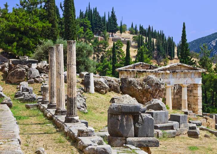 Visitar Delfos desde Atenas