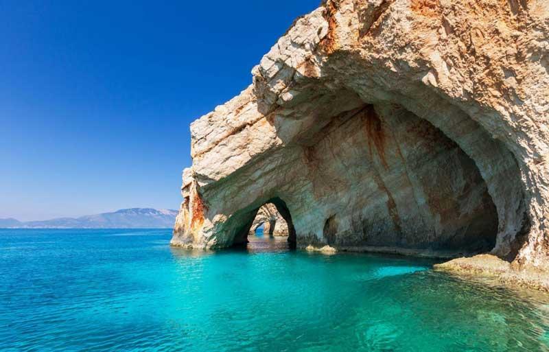 Cuevas azules Zante