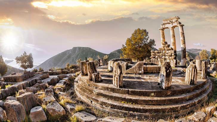 Zona Arqueológica de Delfos